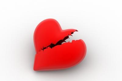 When your heart is breaking